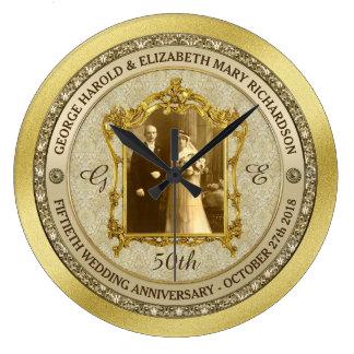 Lijst van de Foto van het Jubileum van de gouden Grote Klok