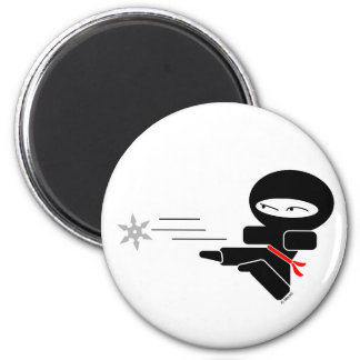 Lil Ninja Magnet Rond 8 Cm