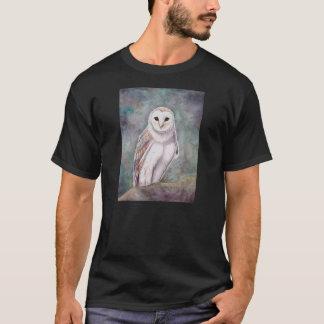 L'illustration de faune de hibou de grange t-shirt