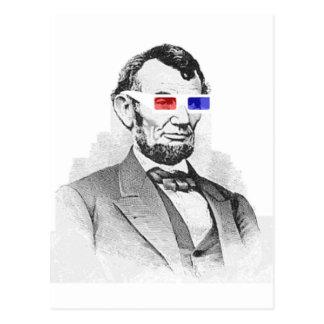 Lincoln dans 3D ! Carte Postale