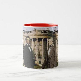 Lincoln et tasse de Jefferson
