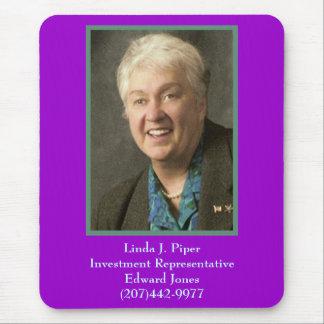 Linda, Linda J. PiperInvestment RepresentativeE… Tapis De Souris