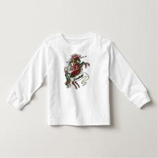 Lindsay Tartan Unicorn Kinder Shirts
