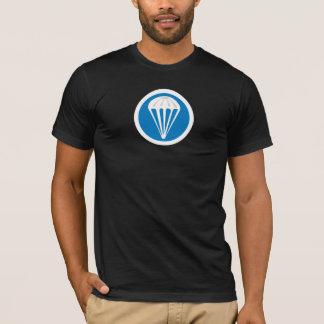 L'infanterie de parachute couvrent le T-shirts de