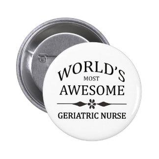 L'infirmière gériatrique la plus impressionnante d pin's avec agrafe