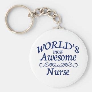L'infirmière la plus impressionnante du monde porte-clefs