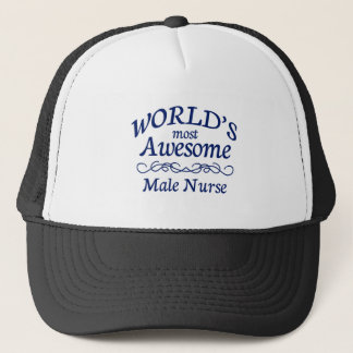 L'infirmière masculine la plus impressionnante du casquette