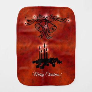 Linge De Bébé Arc-en-ciel de Noël dans le leatheroptik