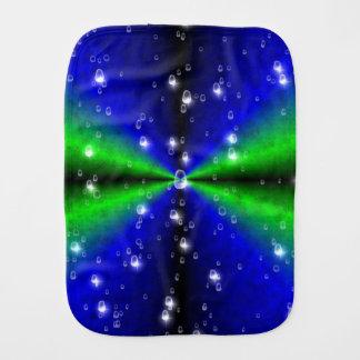 Linge De Bébé Arc-en-ciel de vert bleu dans le leatheroptik