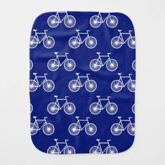 Linge De Bébé Bicyclette blanche, motif de recyclage ;