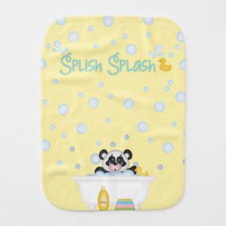 Linge De Bébé Bleus layette de jaune de crèche de temps de bain