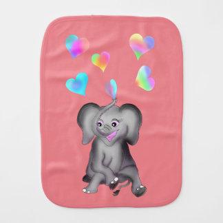 Linge De Bébé Coeurs d'éléphant par Happy Juul Company