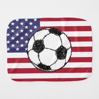Linge De Bébé Croquis du football des Etats-Unis