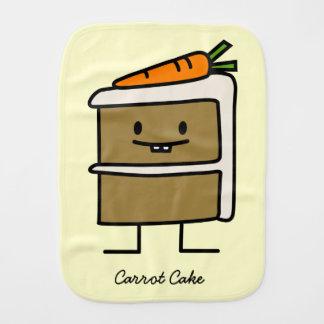 Linge De Bébé Dents de lapin de tranche de gâteau à la carotte