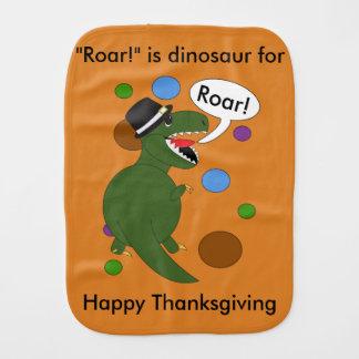 Linge De Bébé Dinosaure de Rex de Tyrannosaurus de thanksgiving