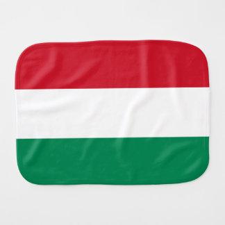 Linge De Bébé Drapeau de la Hongrie
