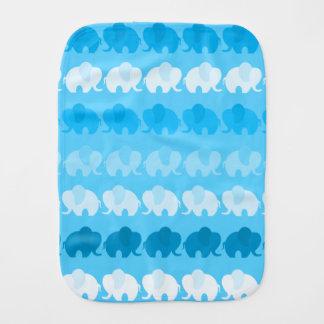 Linge De Bébé Éléphants bleus