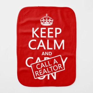 Linge De Bébé Gardez le calme et appelez un agent immobilier