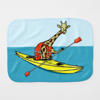 Linge De Bébé Girafe Kayaking