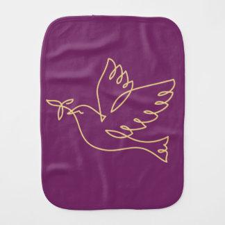 Linge De Bébé Icône de colombe de paix