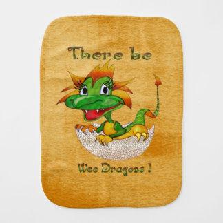 Linge De Bébé Il y ait les dragons petits