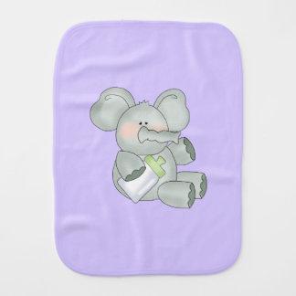 Linge De Bébé Lavande d'éléphant de bébé unisexe