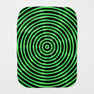 Linge De Bébé L'hypnose entoure le vert