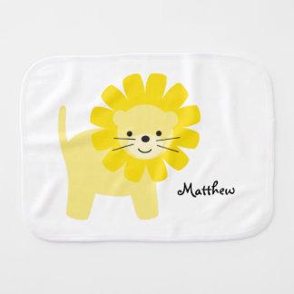 Linge De Bébé Lion jaune mignon