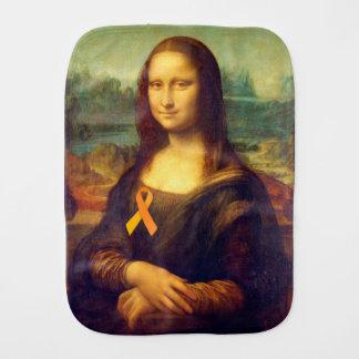 Linge De Bébé Mona Lisa avec le ruban orange