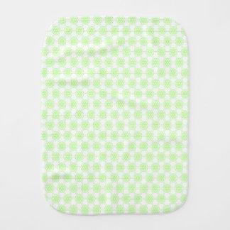 Linge De Bébé Motif géométrique vert unisexe