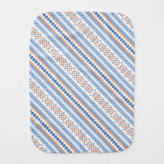 Linge De Bébé Motif tribal aztèque orange bleu mignon de motif