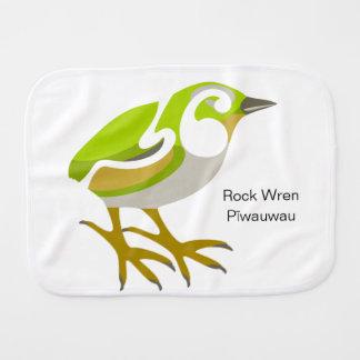 Linge De Bébé Roitelet de roche, île du sud, oiseau de NZ