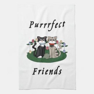 Linge De Cuisine Amis de Purrrfect de chat