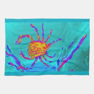 Linge De Cuisine Art sous-marin de crabe frais