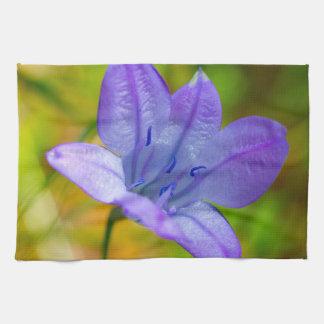 Linge De Cuisine Beau fleur sauvage bleu
