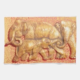 Linge De Cuisine Beaux éléphants animaux de safari du Kenya
