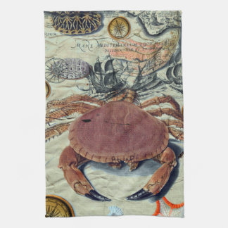 Linge De Cuisine Carte de crabe
