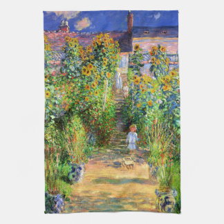 Linge De Cuisine Claude Monet : Le jardin de Monet chez Vétheuil