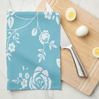 Linge De Cuisine Coutume Color_ de Retro_Maggie-Floral_Maggie Blue*