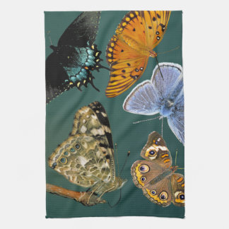 Linge De Cuisine Cuisine de ménagerie de papillons