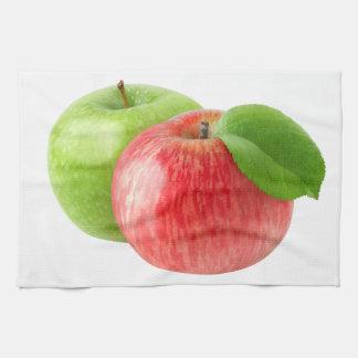 Linge De Cuisine Deux pommes