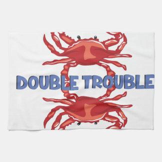 Linge De Cuisine Double problème