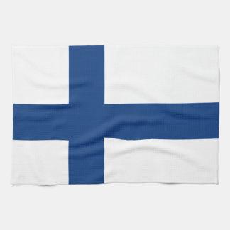 Linge De Cuisine Drapeau de la Finlande