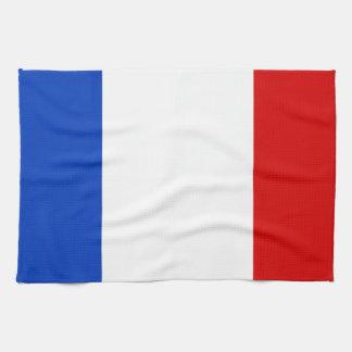 Linge De Cuisine Drapeau de la France