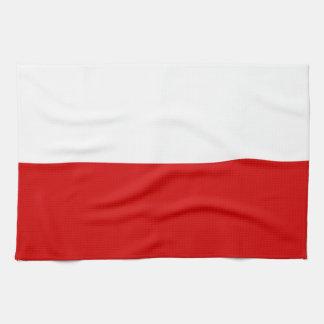 Linge De Cuisine Drapeau de la Pologne