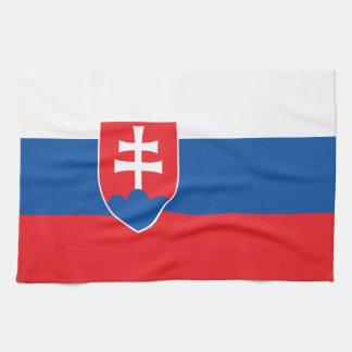 Linge De Cuisine Drapeau de la Slovaquie