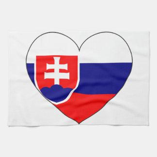 Linge De Cuisine Drapeau de la Slovaquie simple