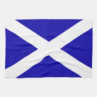 Linge De Cuisine Drapeau écossais