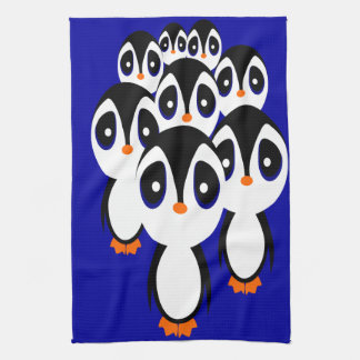 Linge De Cuisine Famille de pingouin