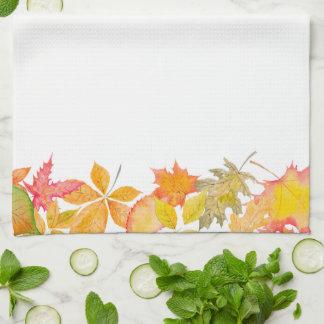 Linge De Cuisine Feuille d'automne